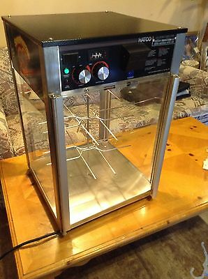 USED HATCO COUNTERTOP PRETZEL WARMING DISPLAY with Humidifier tested all working