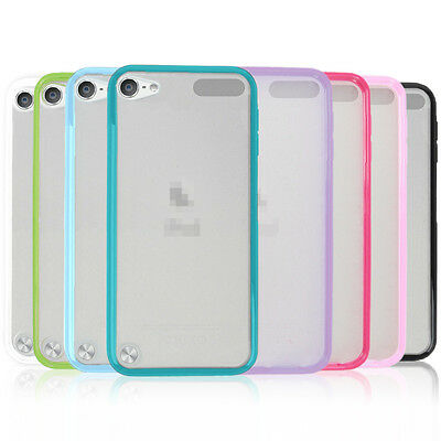 Gel Thin Silicone TPU Case Cover for Apple iPod Touch 5 5th 6 6th Generation Gen