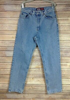 Old Navy Mens 31X30 Medium Wash Relaxed Fit Jeans High Waist Classic Style
