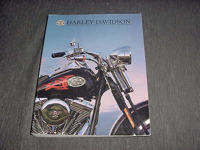Harley davidson motorcycle motor accessories and genuine parts catalog 2005