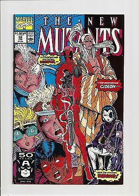 The New Mutants #98 Nm 9.4 1St Appearance Of Deadpool! *copper Age* 1991