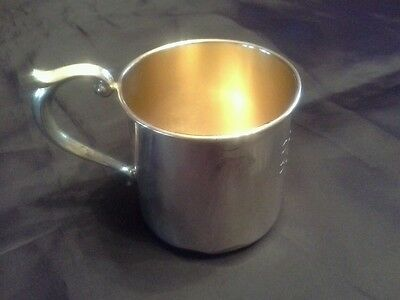 Vintage Newport Sterling Silver Baby Cup 1626
