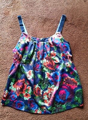 Old Navy Maternity Floral Tank Top. Size M. EUC silky material.
