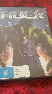 The Incredible Hulk - Edward Norton   -  Dvd - R4