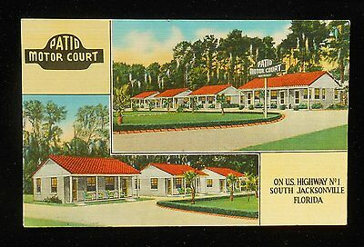 1940s Patio Motor Court Highway 1 3150 Kings Ave. South Jacksonville FL  Duval Co