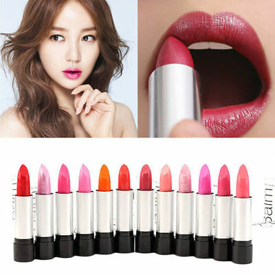 New 12pcs Lipstick Set Cosmetic Makeup Long Lasting Lip Stick Lipsticks  MH