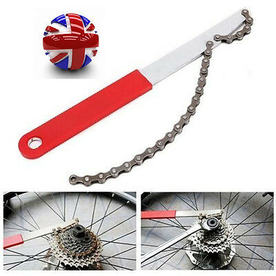 Freewheel Bike Chain Whip Cycle Bicycle Cassette Cog Removal Remover Repair Tool