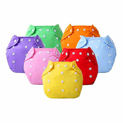 Soft Covers Cloth Nappy Diapers 1 Pcs Baby Infant Reusable Washable Adjustable