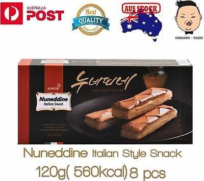 Korean samlip nuneddine italian style snack, Biscuits, Cookies 120g