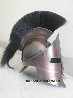 Medieval Armour Copper Antique 300 Adult Helmet Copper Antique Style