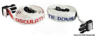 Osculati Four mainsail Straps Kit