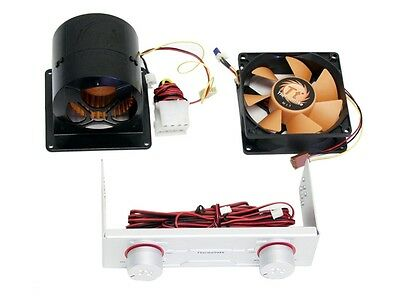 Kit Raffreddamento Pc 2 Ventole Regolabili Thermaltake X-Blower A-1869