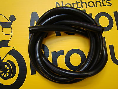 QUALTY RUBBER Motorcycle Motorbike Petrol  Fuel Hose Pipe 6MM INTERNAL X 9MM EXT