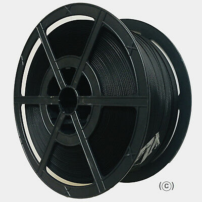 1000M 12Mm Black Polypropylene Strapping Banding Strong Plastic Core
