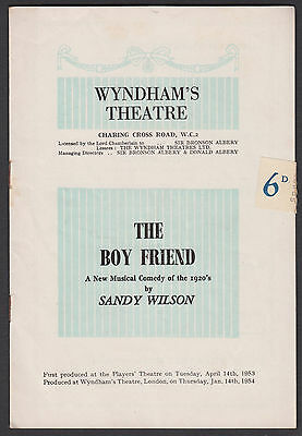 1954. London. 'The Boyfriend' Sheila Bernette. Maria Charles. Anne Rogers JZ.13