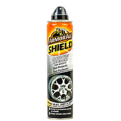 ArmorAll SHIELD Brake Dust Repellent Polish Wax Alloy Wheels Barrier Protector