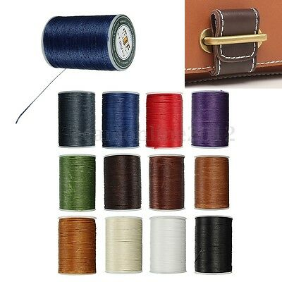 0.8MM Leather Sewing Waxed Thread Wax Cord For Upholstery Shoes Luggage Repair