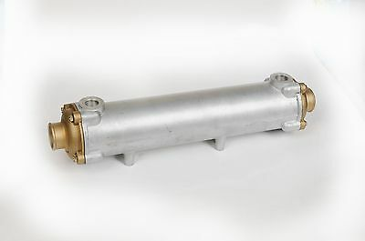"Marine Heat Exchanger 18 3/4"" long by 3 1/2"" diameter"