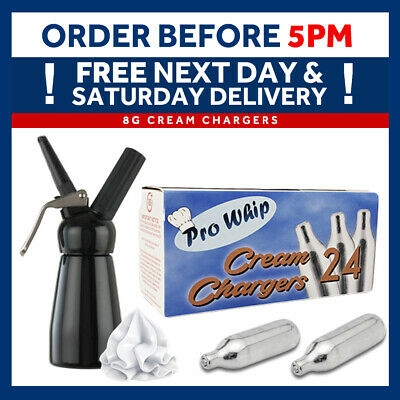Cream Chargers Pro Whip Canisters ADD on Whipping Dispensers Free Delivery Mosa