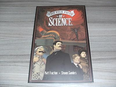 The Five Fists Of Science. Graphic Novel Tpb Collected Edition. Image Comics