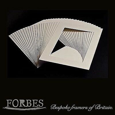 Soft White, Off White Picture Mounts - Framing, Mounts, Art