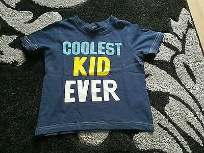boys blue coolest kid ever tshirt age 2-3 years from george