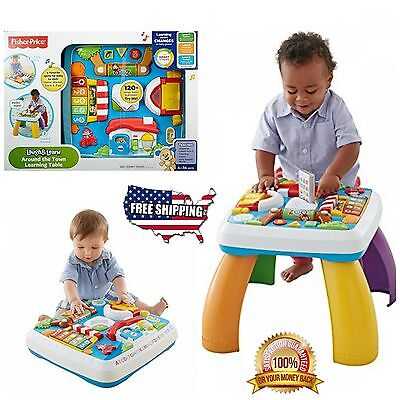 Fisher Price Laugh And Learn Table Developmental Baby Toys Educational Toys Kids