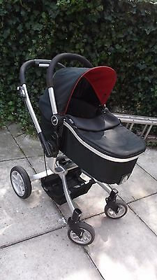 Graco Red /black Travel System  Buggy Carry Cot And Pram Seat Included
