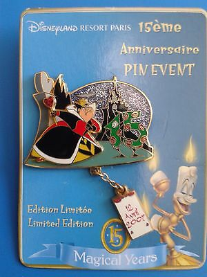 pins disneyland paris 15 ans