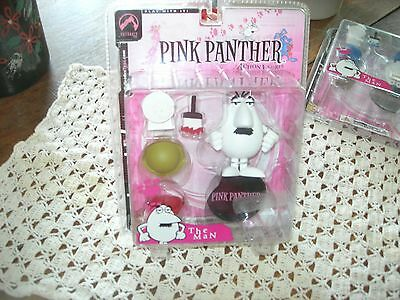 Pink Panther THE MAN Action Figure All White PALISADES TOYS 2004 NEW in Package