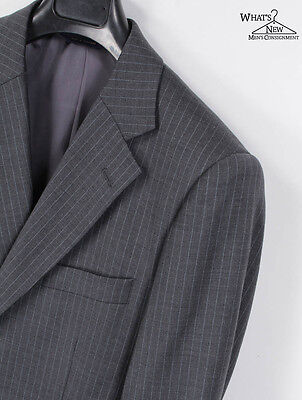 Brooks Brothers Wool/Stretch Pinstriped Suit Sz. 39 40 S