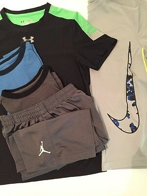 boys clothes lot Large 10 12 14 Athletic Wear T-shirts