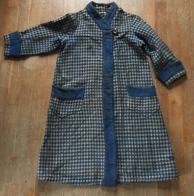 Vintage 1920s Beacon Blanket Cotton Robe Halle Brothers Cleveland . Child Size