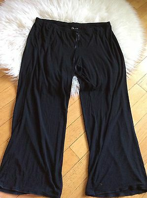 Gap Maternity Sweat Pants Sleep Pants Pajama Bottoms Black Comfy Xxl 2Xl