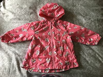 Girls 18-24 Month Next Lined Showerproof Packaway Jacket