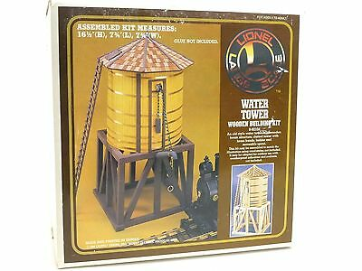 Lionel 8-82104 Water Tower Wooden Building Kit G Scale Model Trains Railroads