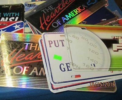 Novelty License Plates - Brand New - Many Styles Available - See Variations