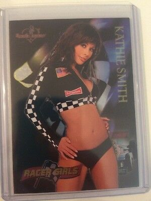 Kathie Smith Racer Girls Bench Warmer 8 Of 12 2005
