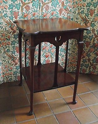 Arts And Crafts Style Mahogany Side Occasional Table Hall Antique Furniture