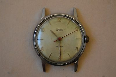 Vintage Gents Timex Mechanical Watch---Spares Or Repair