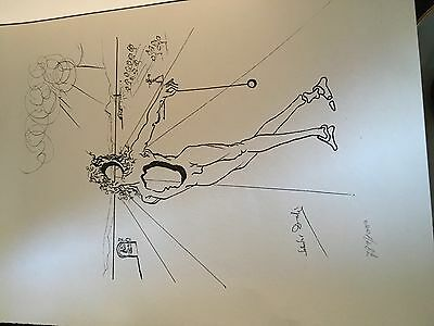 salvador dali Limited Edition Signed Print