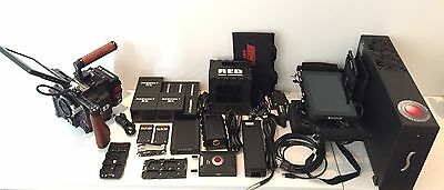 Red Epic M Dragon Kit - 115 HOURS, Rocket X, Directors Monitor, Paralinx Arrow
