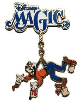 GOOFY With PAINTBRUSH+BUCKET PAINTING DISNEY MAGIC Dangle DCL CRUISE LINE PIN