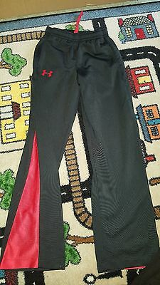Under Armour Black with Red Boys Pants