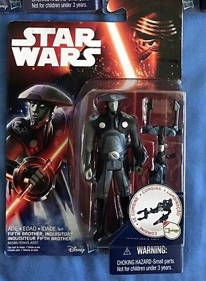 """Star Wars - 3.75"""" Action Figure - Fifth Brother Inquisitor - New"""
