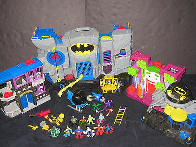 Fisher Price Imaginext Batman & Joker Play Sets Figures Vechiles More TOY LOT