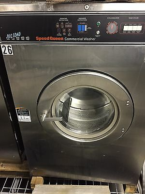 50 Lbs Speed Queen Mega Load Washer Coin Laundry Laundromat