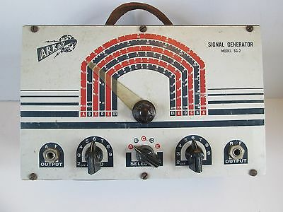 Arkay Signal Generator Model SG-2 Vintage Untested