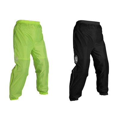 Oxford Rain Seal Motorcycle Motorbike All Weather Over Trousers All Colours