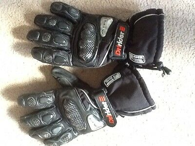 Dririder Motorcycle Gloves Size L Like New